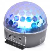 BeamZ Magic Jelly DJ Ball Music Controlled