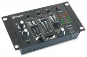 Mixer 4channel multipurpose black