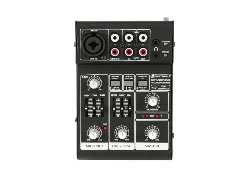 Omnitronic MRS-502USB mixážní pult