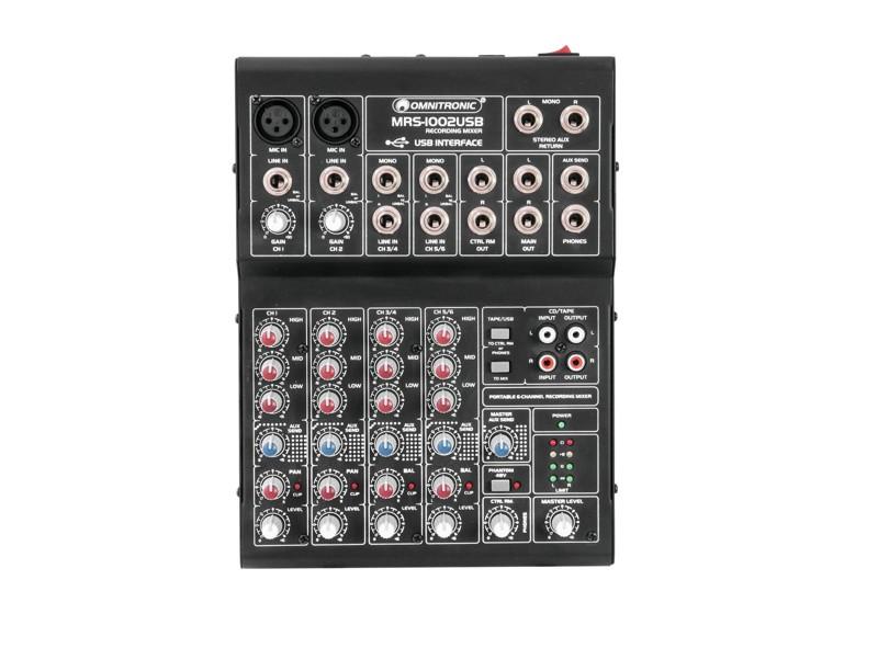 Omnitronic MRS-1002USB mixážní pult