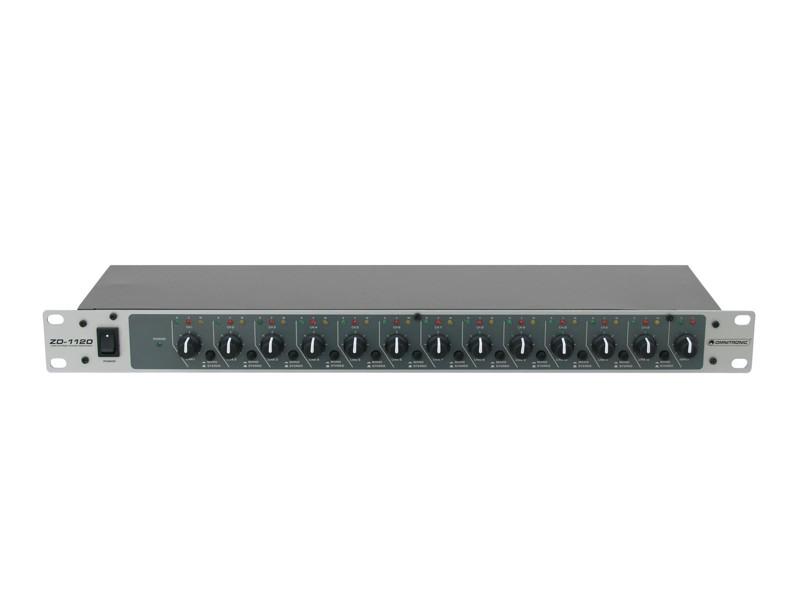 Omnitronic ZD-1120, zónový distributor