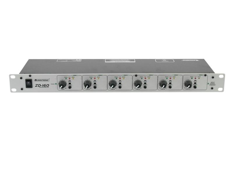 Omnitronic ZD-160, zónový distributor