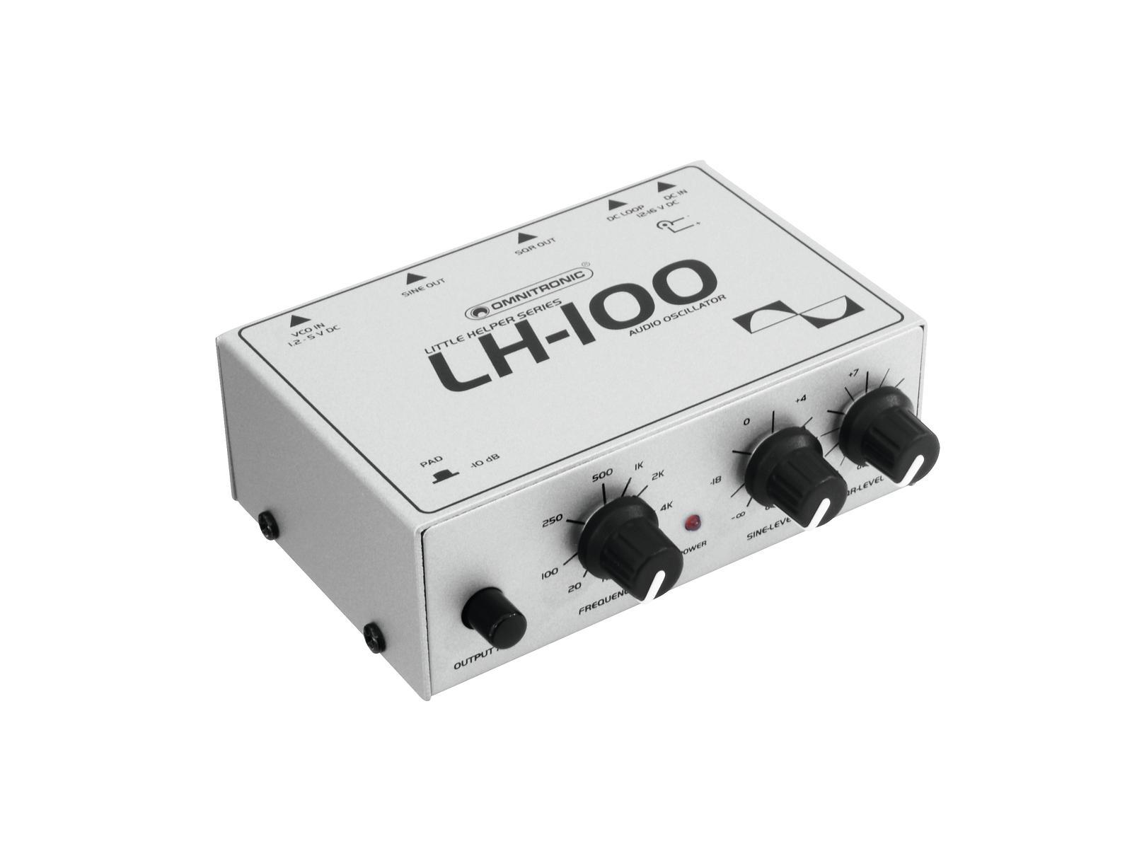 Omnitronic LH-100, dvojitý audio oscilátor
