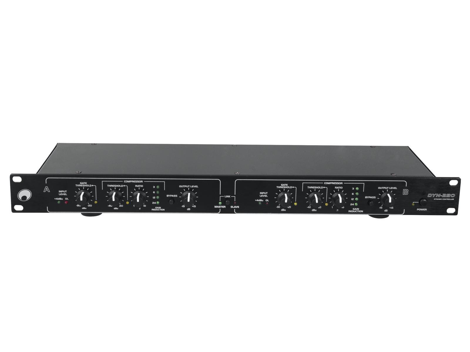 Omnitronic DYN-220, kompresor / limiter