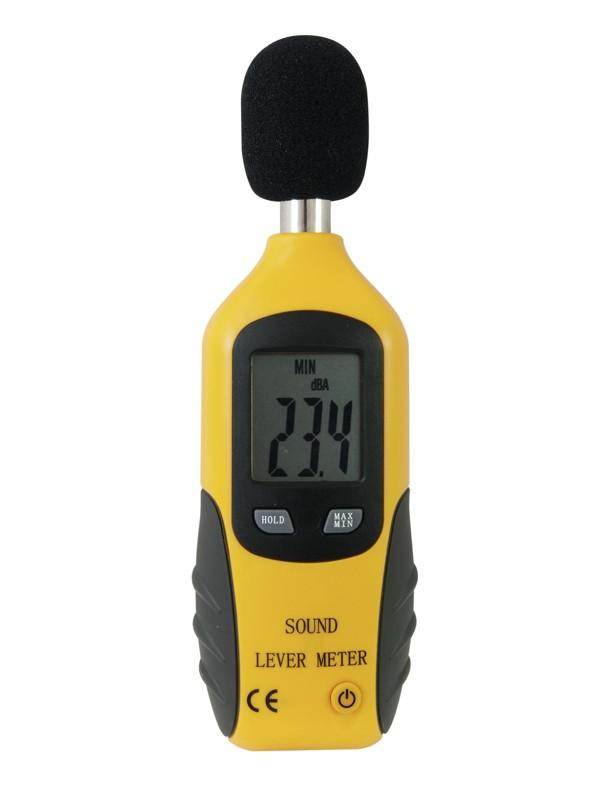 Omnitronic SLM-250 SPL, měřič hlasitosti