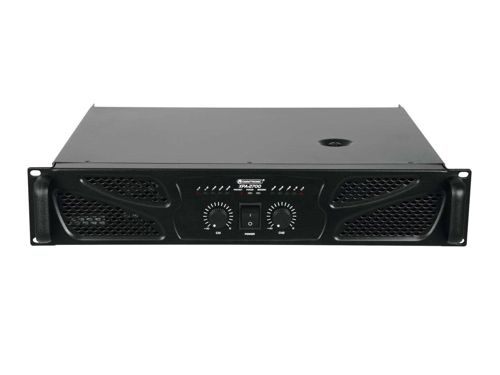 Omnitronic XPA-2700, zesilovač
