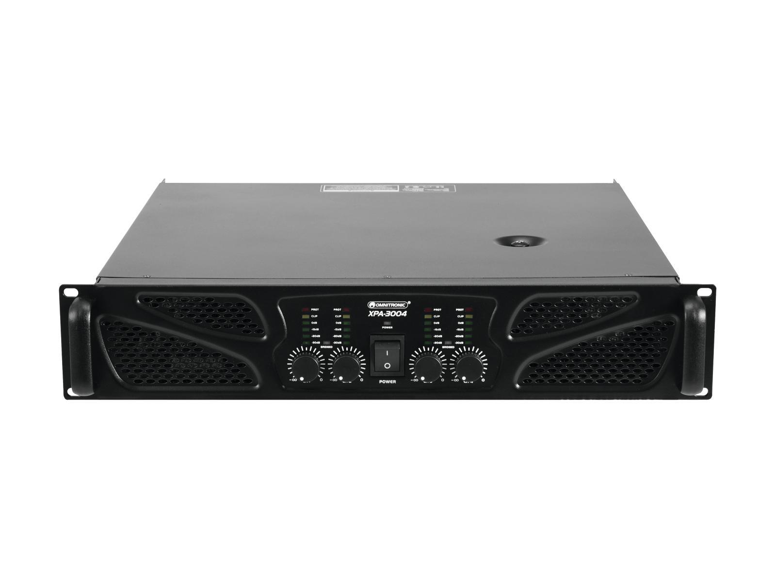Omnitronic XPA-3004, zesilovač 4x 750W