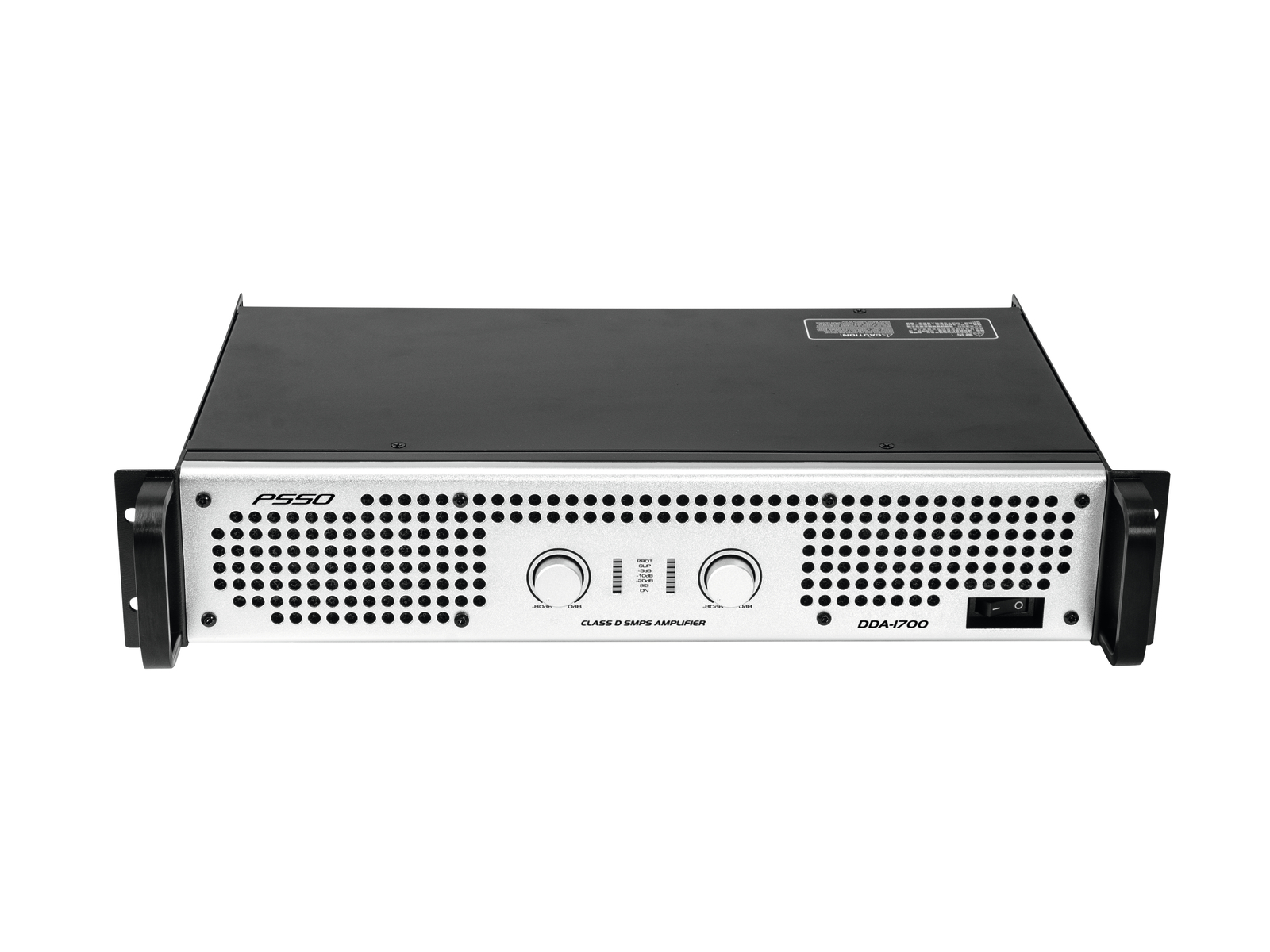 PSSO DDA-1700, zesilovač 2x 850 W