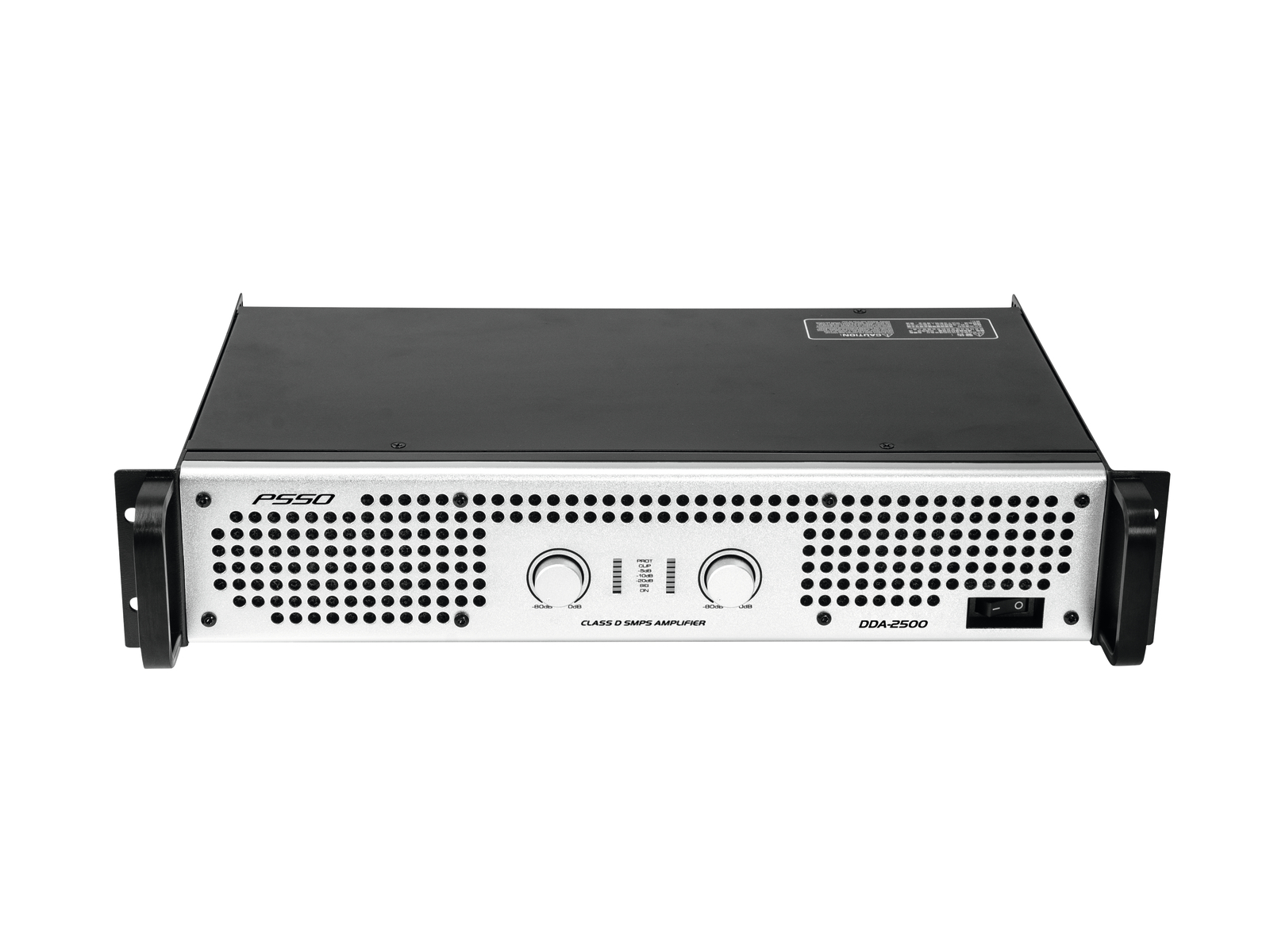 PSSO DDA-2500, zesilovač 2x 1250 W
