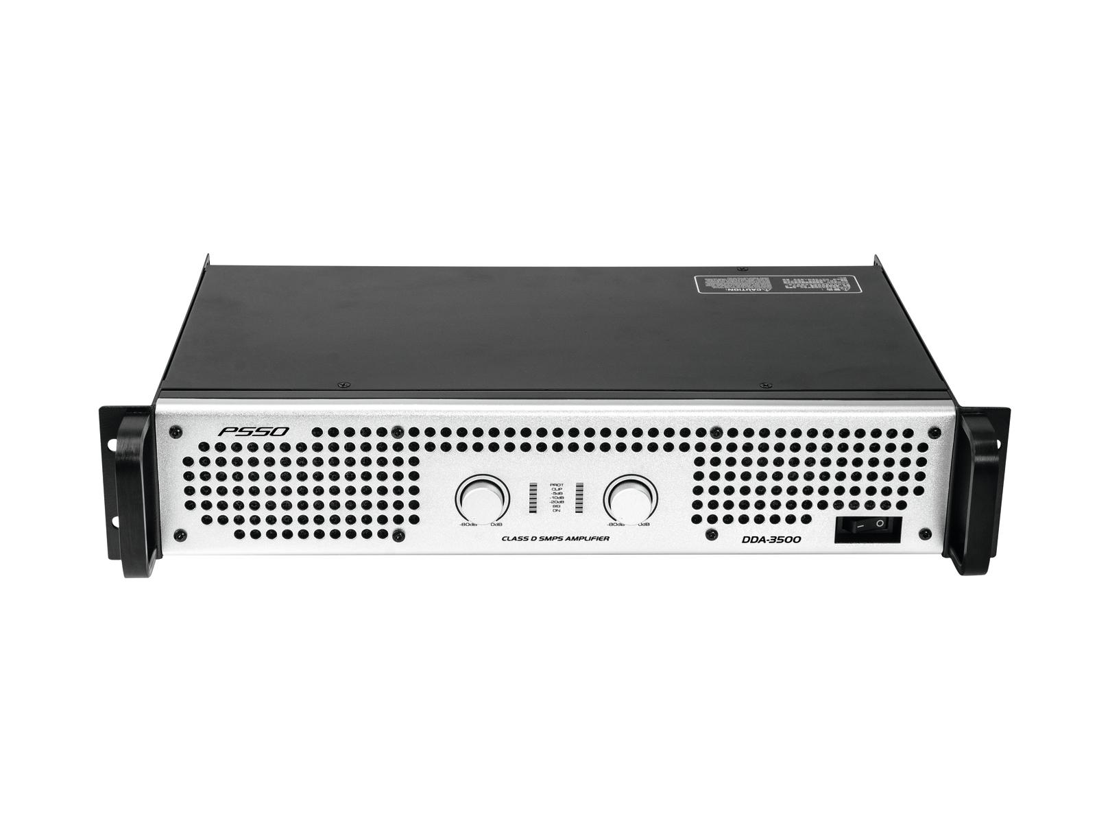 PSSO DDA-3500, zesilovač 2x 1750 W