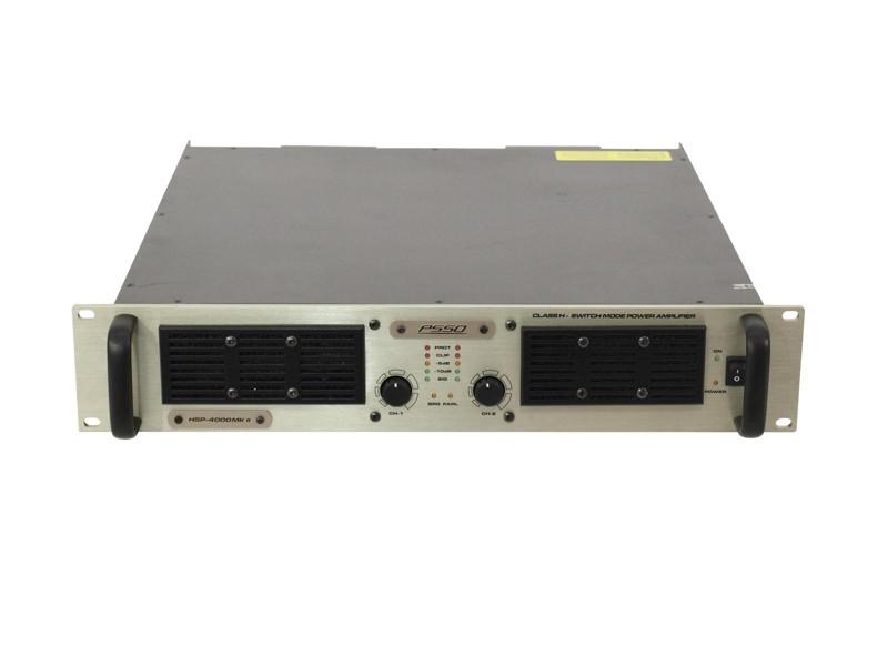 PSSO HSP-4000 MKII SMPS zesilovač, 2x 2000 W
