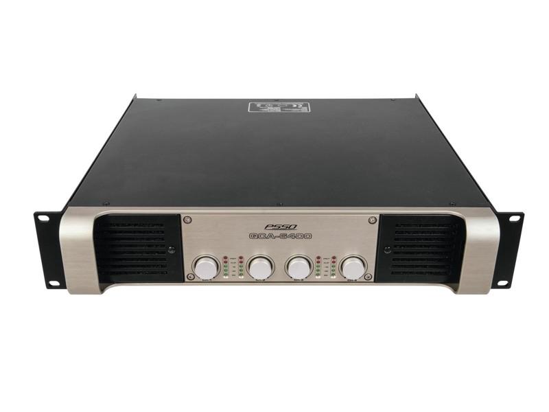 PSSO QCA-6400 4-kanálový SMPS zesilovač, 4x 2100 W