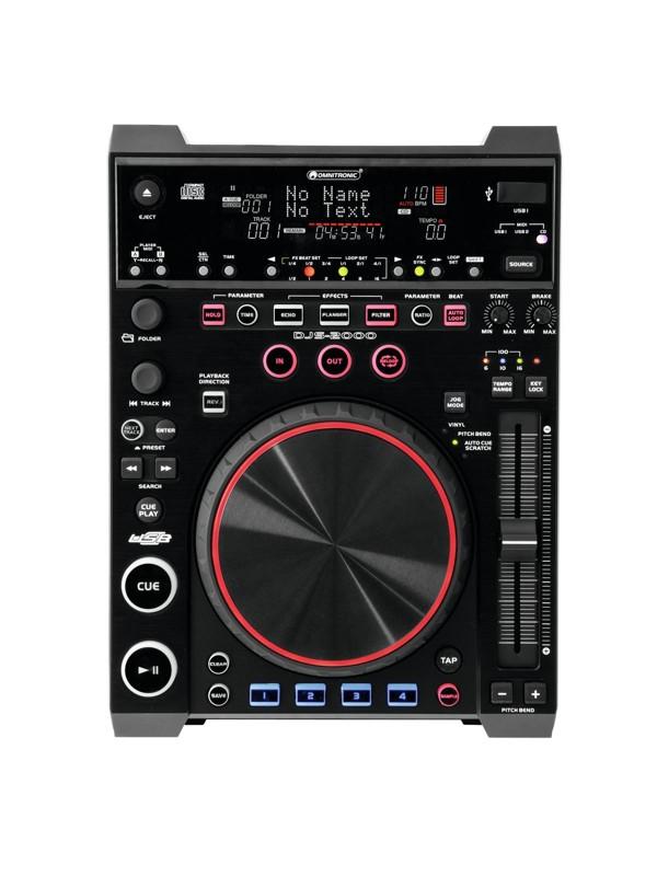Omnitronic DJS-2000 DJ přehrávač, dj-series 2000