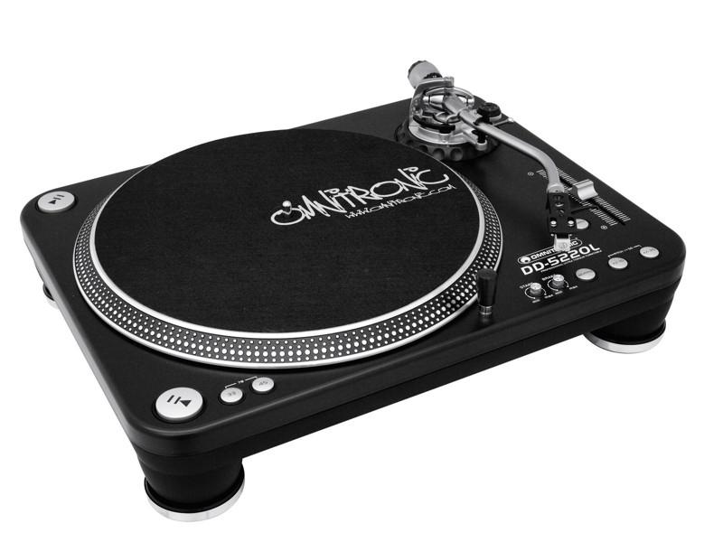 Omnitronic DD-5220 Line, gramofon