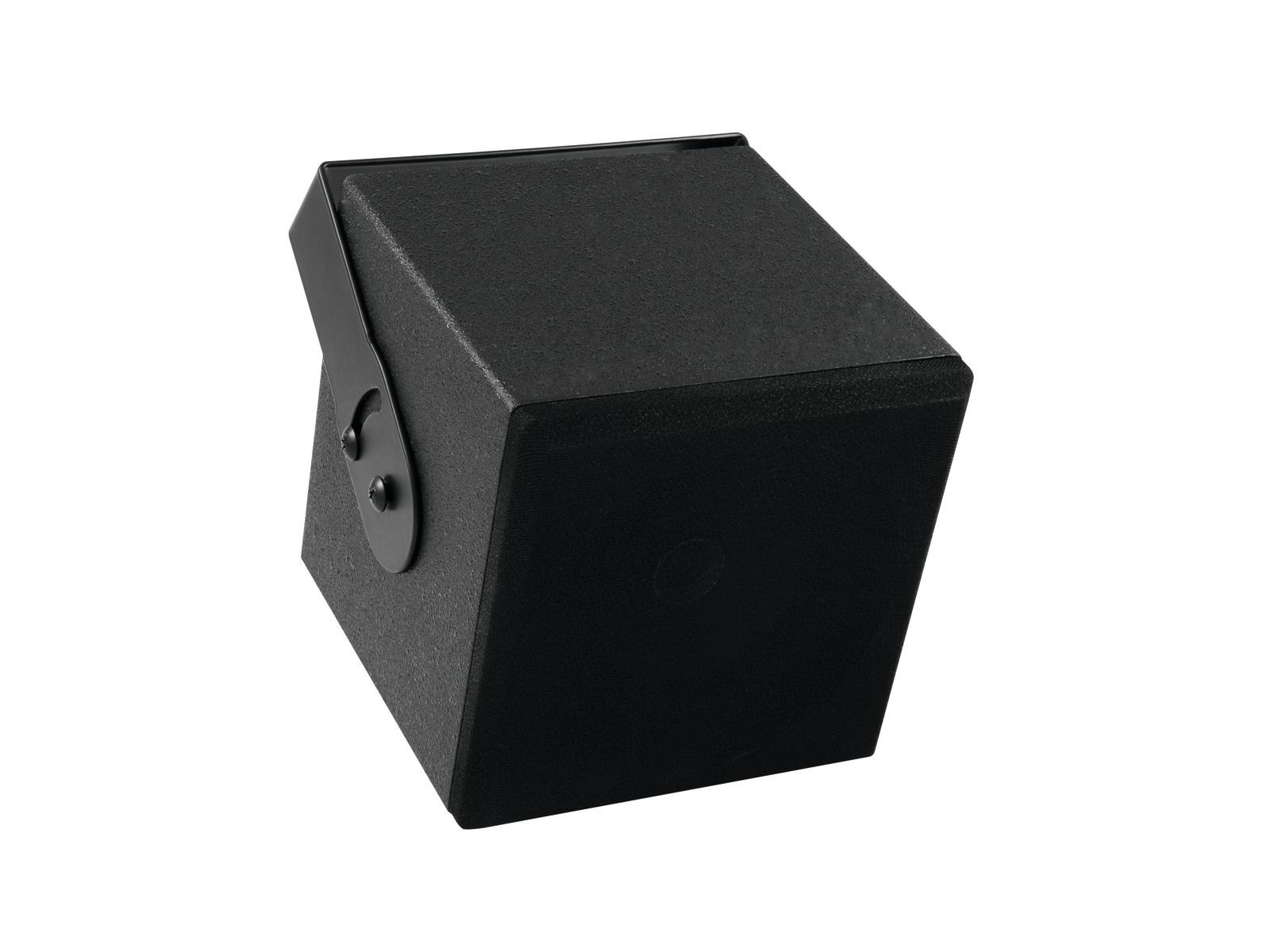 """Omnitronic QI-5 nástěnný reproduktor 5"""", coaxiální, černý"""