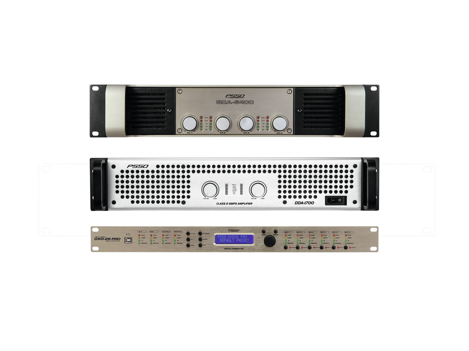 PSSO set zesilovačů MK2 pro Line-Array S