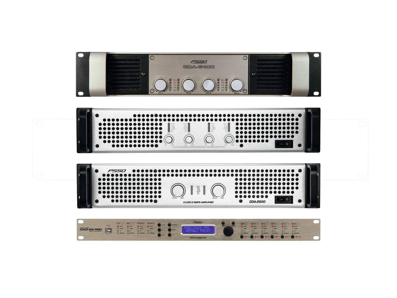 PSSO set zesilovačů MK2 pro Line-Array M