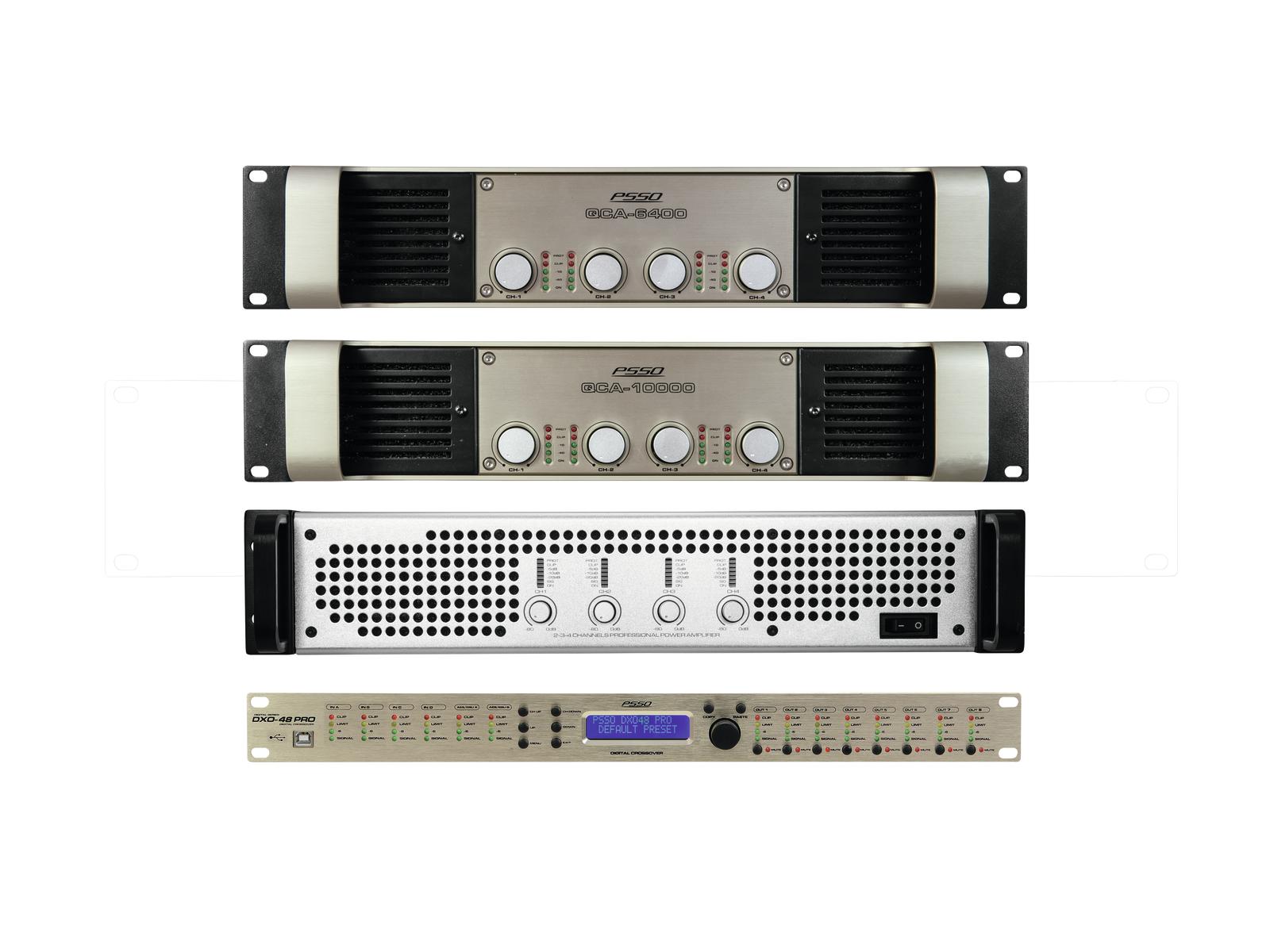 PSSO set zesilovačů MK2 pro Line-Array L