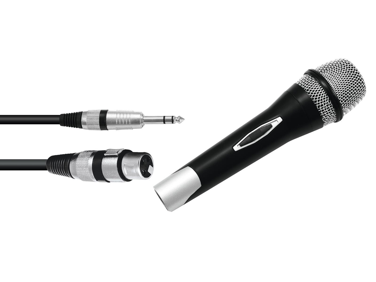 Omnitronic Partymic-1, dynamický mikrofon