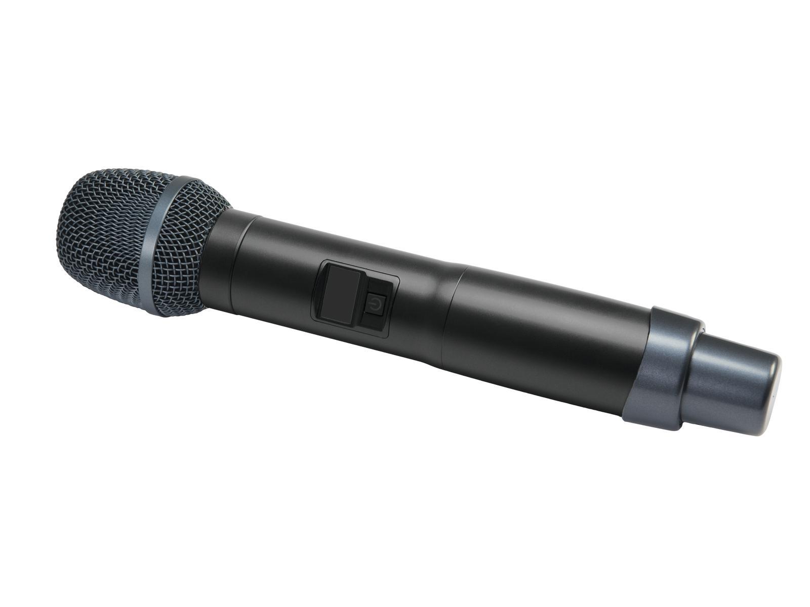 Relacart UH-222C, ruční bezdrátový mikrofon