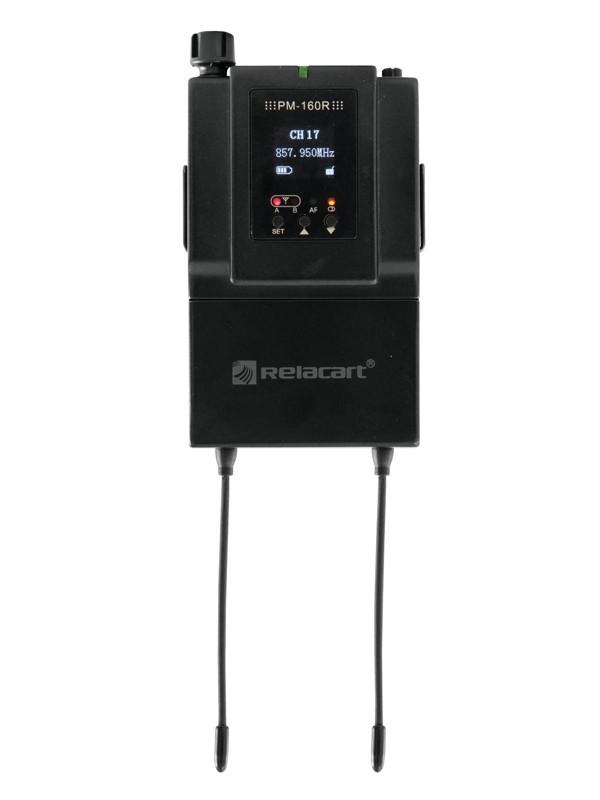 Relacart PM-160R diverzitní, in-ear přijímač