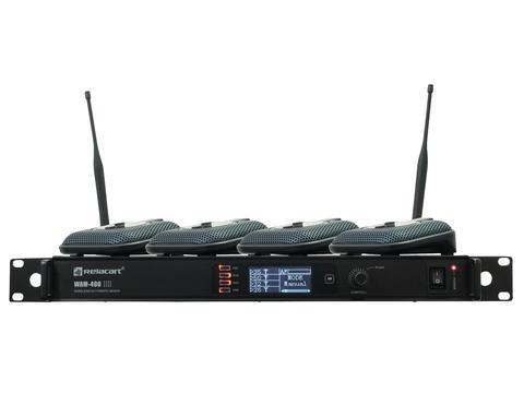 Relacart Set 1x WAM-400 and 4x UB-200, konferenční set
