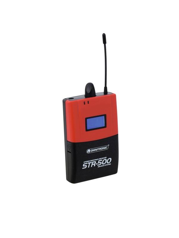 Omnitronic STR-500, bezdrátový vysílač pro IEM-500