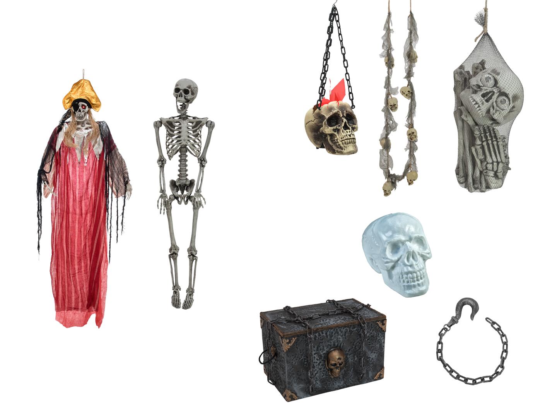 Halloween SET pirátský