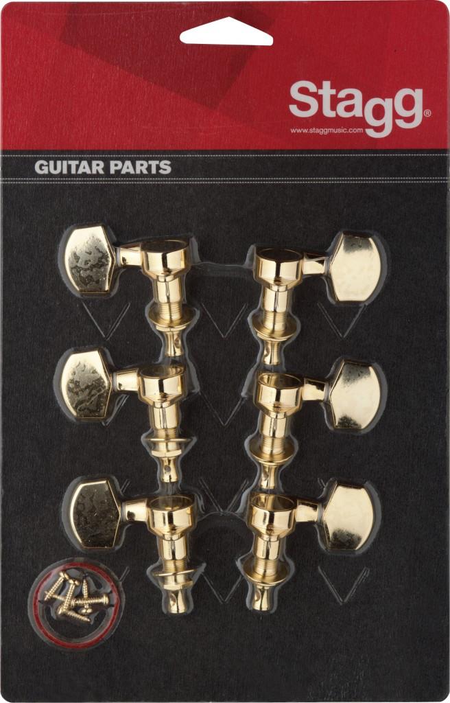 Stagg KG371GD, ladící mechanika pro elektrickou/akustickou kytaru