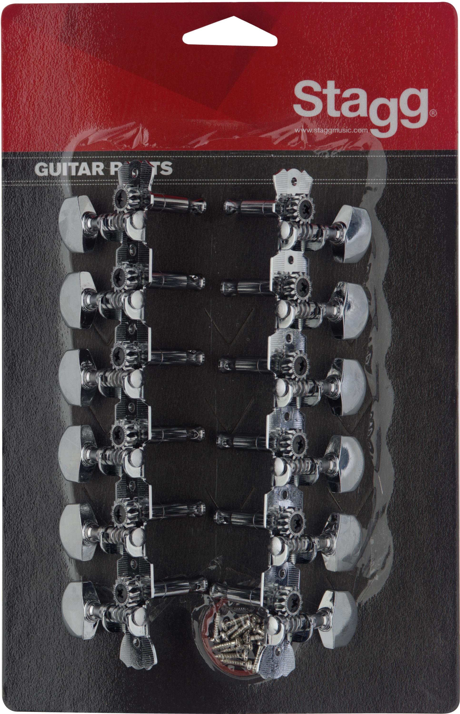 Stagg KG679, ladící mechanika pro 12 strunnou kytaru