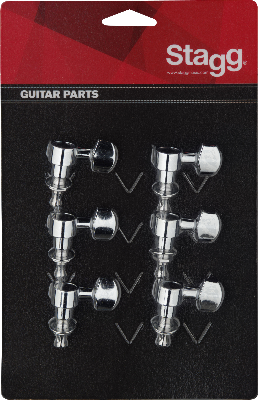 Stagg KG673CR, ladící mechanika pro kytaru