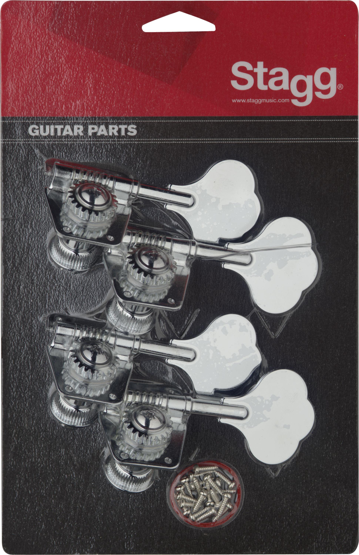 Stagg KG475CR, ladící mechanika pro basovou kytaru