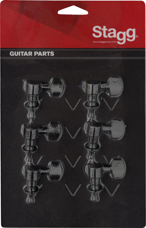 Stagg KG673BK, ladící mechanika pro kytaru