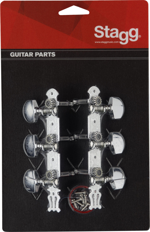 Stagg KG367, ladící mechanika pro akustickou kytaru