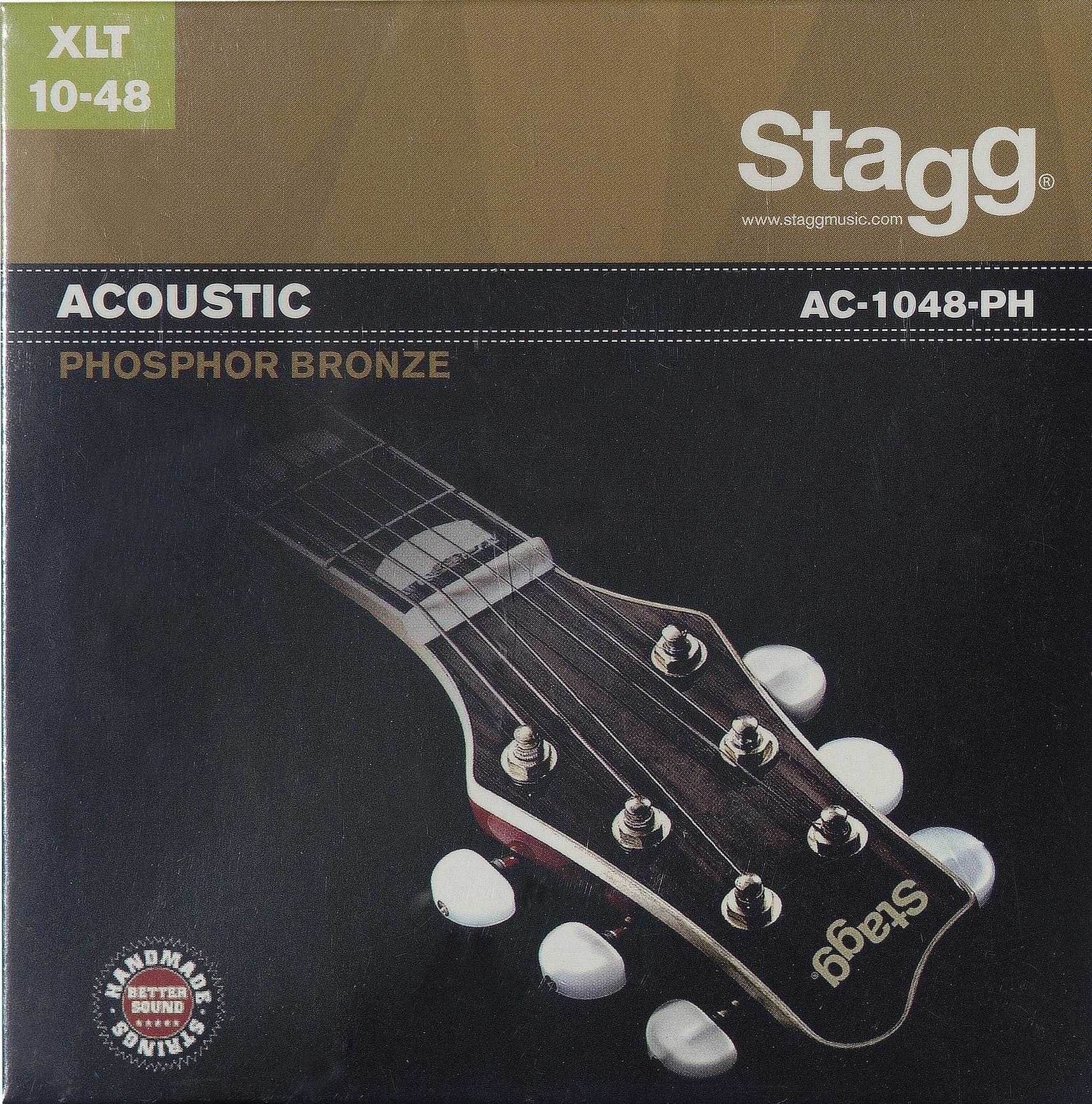 Stagg AC-1048-PH, sada strun