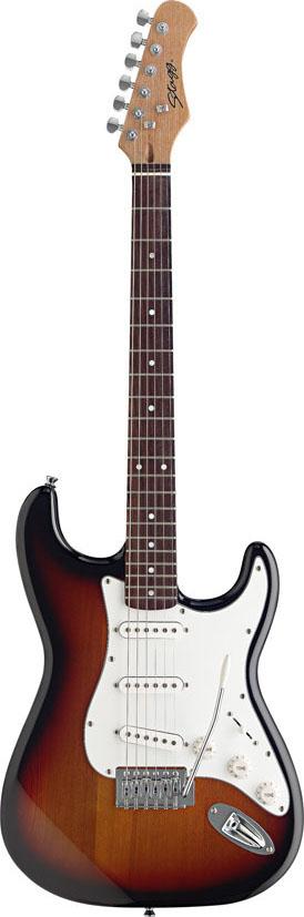 Stagg S300-SB, elektrická kytara, stínovaná