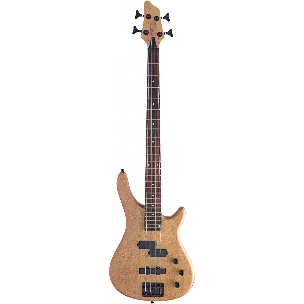Stagg BC300-NS, elektrická baskytara, přírodní