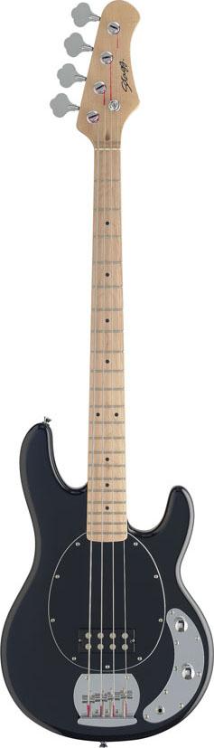 Stagg MB300-BK, elektrická baskytara, černá