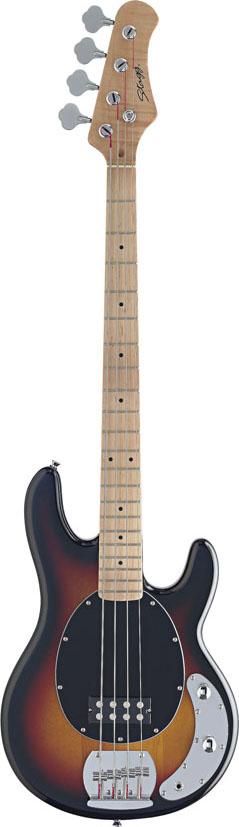 Stagg MB300-SB, elektrická baskytara, stínovaná