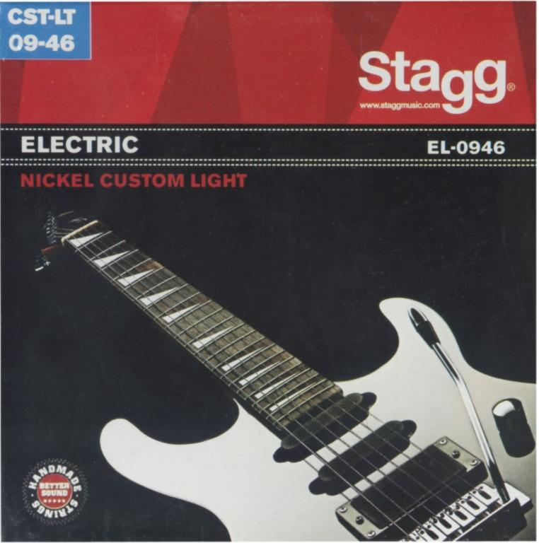 Stagg EL-0946, sada strun pro elektrickou kytaru