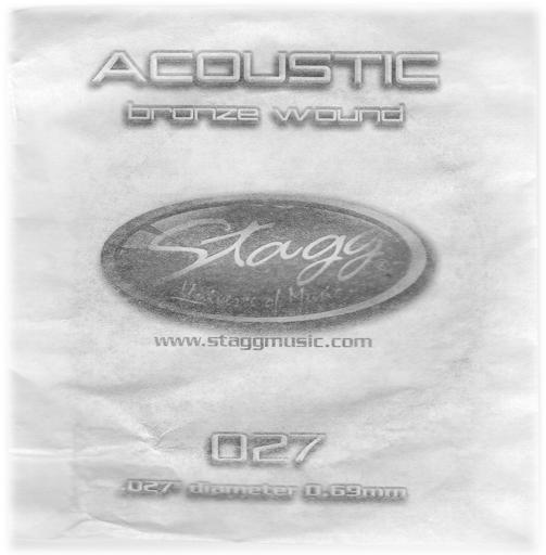Stagg BRW-027, struna