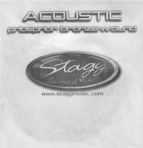Stagg PBW-045, struna