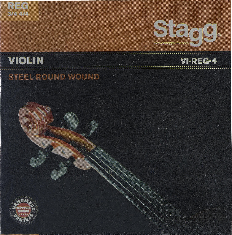 Stagg VI-REG-4, sada strun pro 3/4 a 4/4 housle