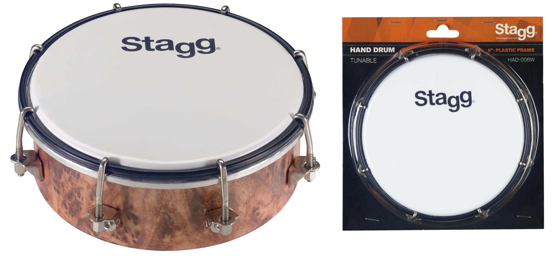 Stagg HAD-006W, laditelný bubínek 6