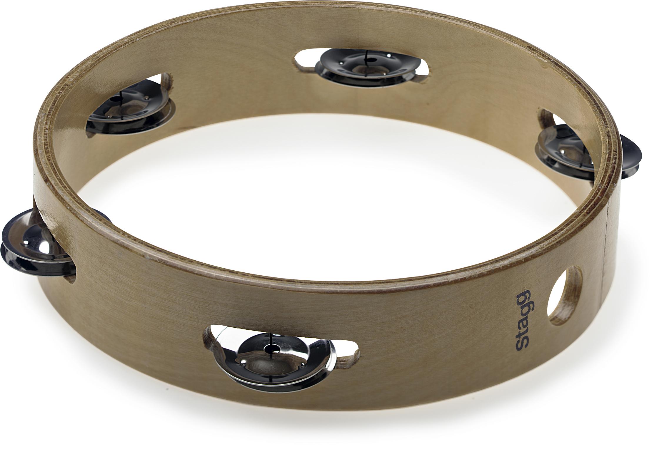 Stagg STA-3108, dřevěná tamburína, 8