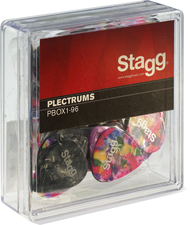 Stagg PBOX1-96, krabice trsátek 100ks, 0.96mm