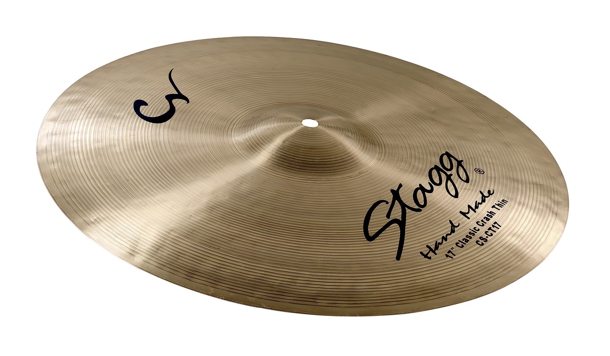 Stagg CS-CT17, činel crash Thin