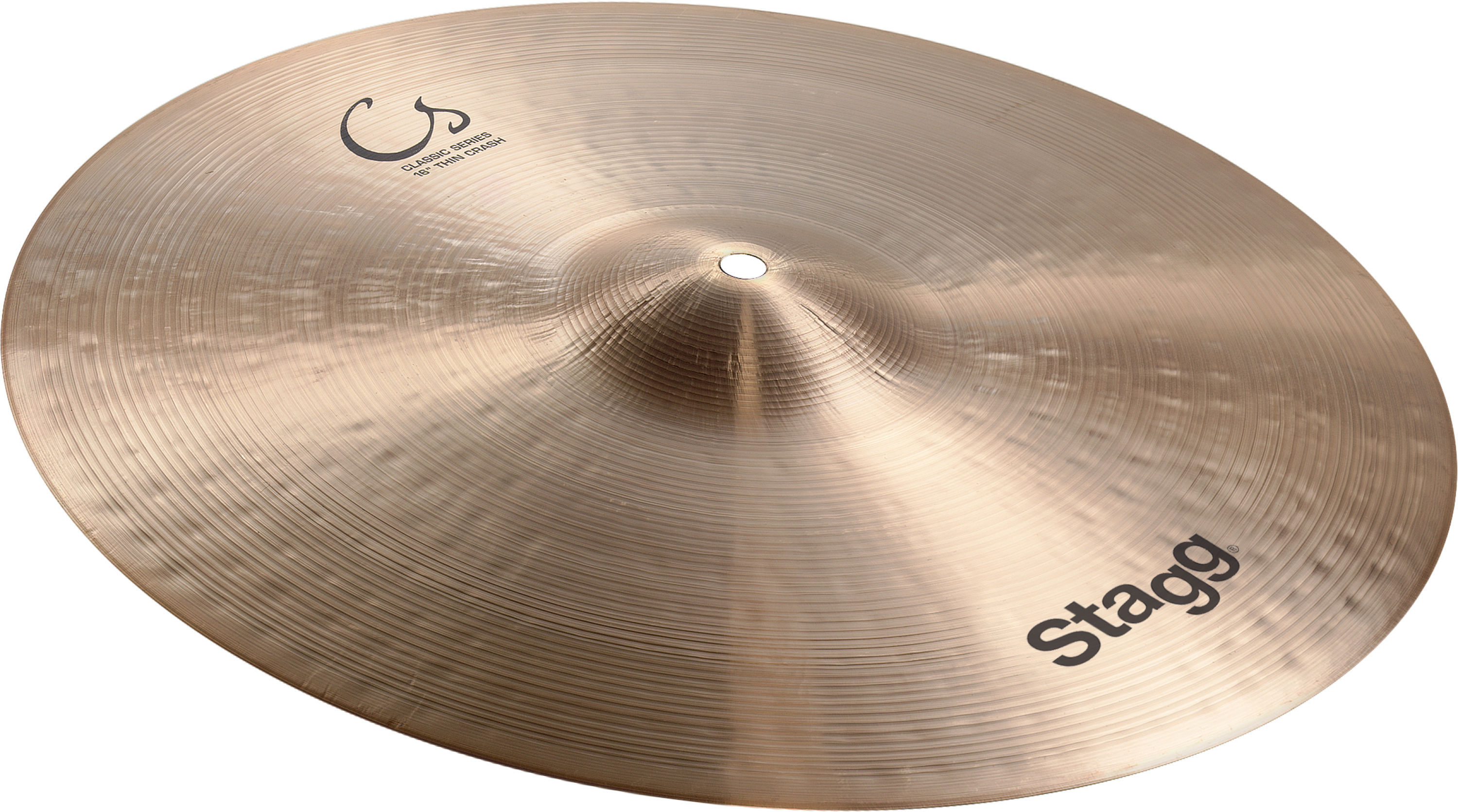 Stagg CS-CMT16, činel crash Medium Thin
