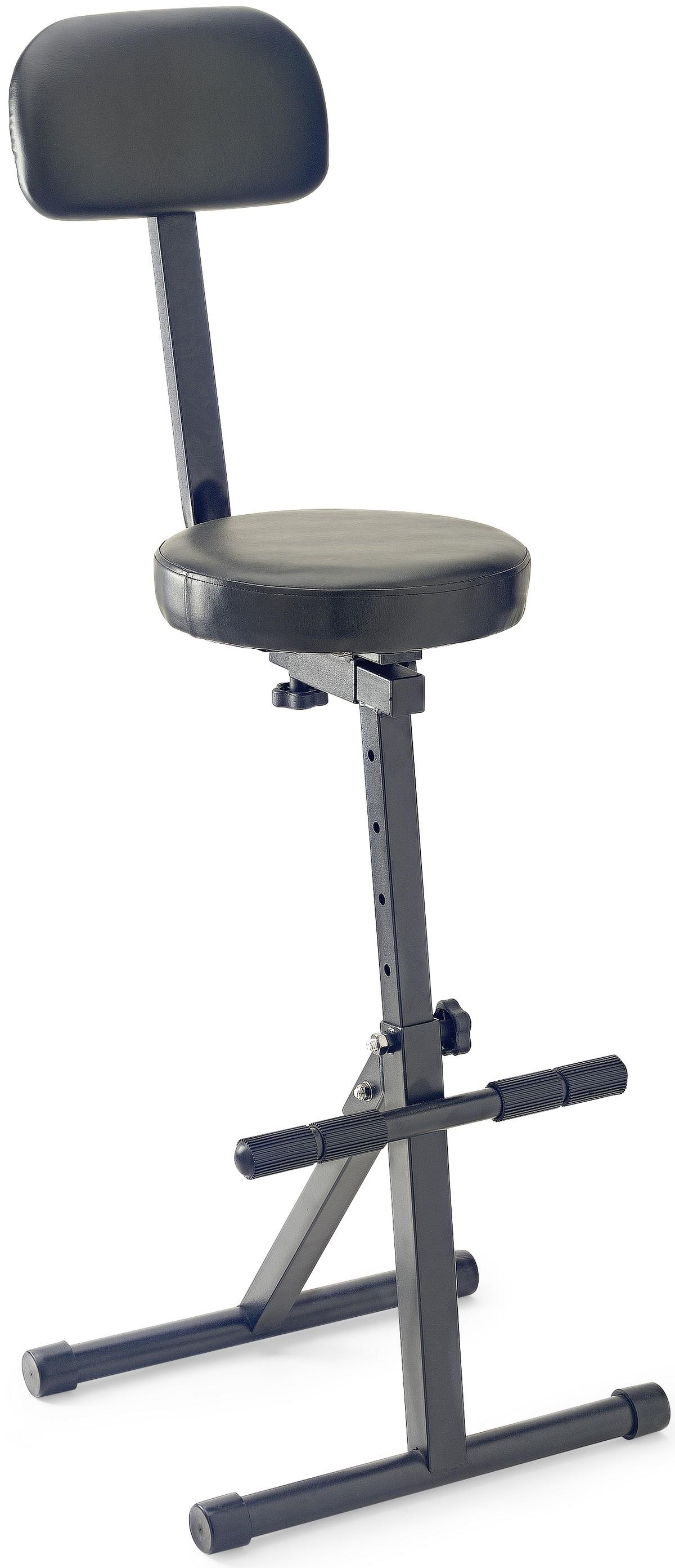 Stagg MT-300 BK, muzikantská stolička vysoká
