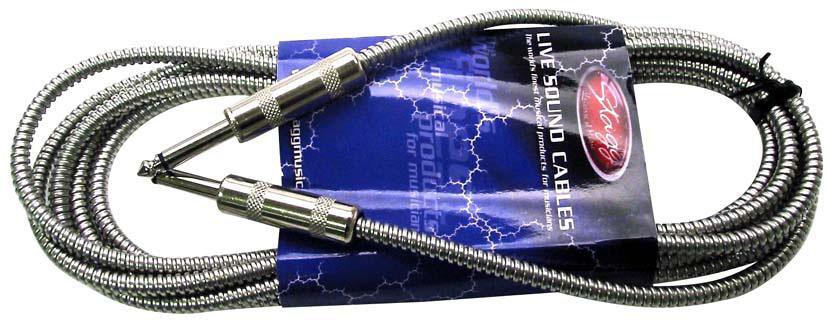 Stagg GC-3MTH, kabel JACK/JACK 3m